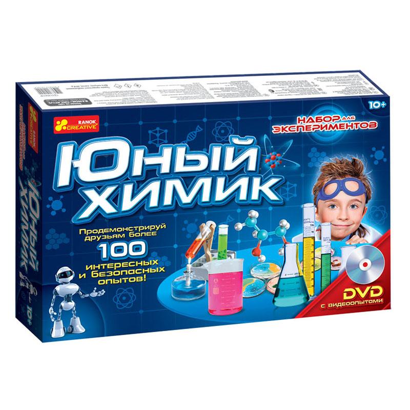 Юный химик - научные игры
