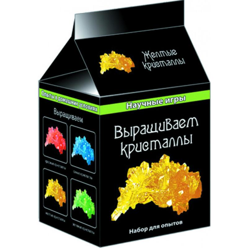 Выращиваем кристаллы (желтые) - научные мини игры