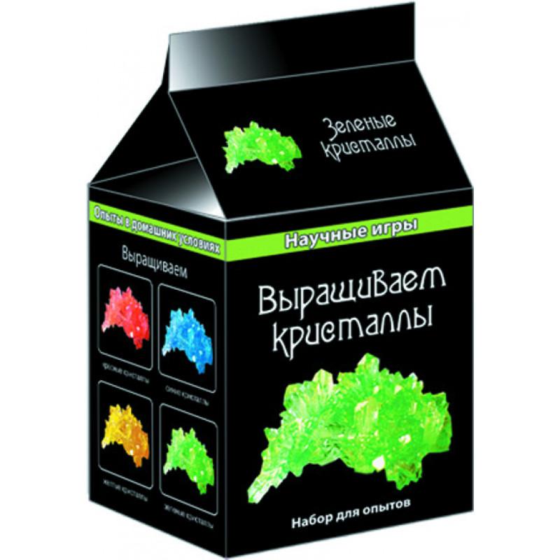 Выращиваем кристаллы (зеленые) - научные мини игры