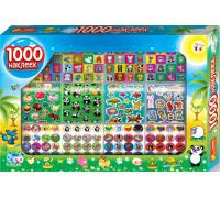 1000 наклеек с животными - Наборы наклеек