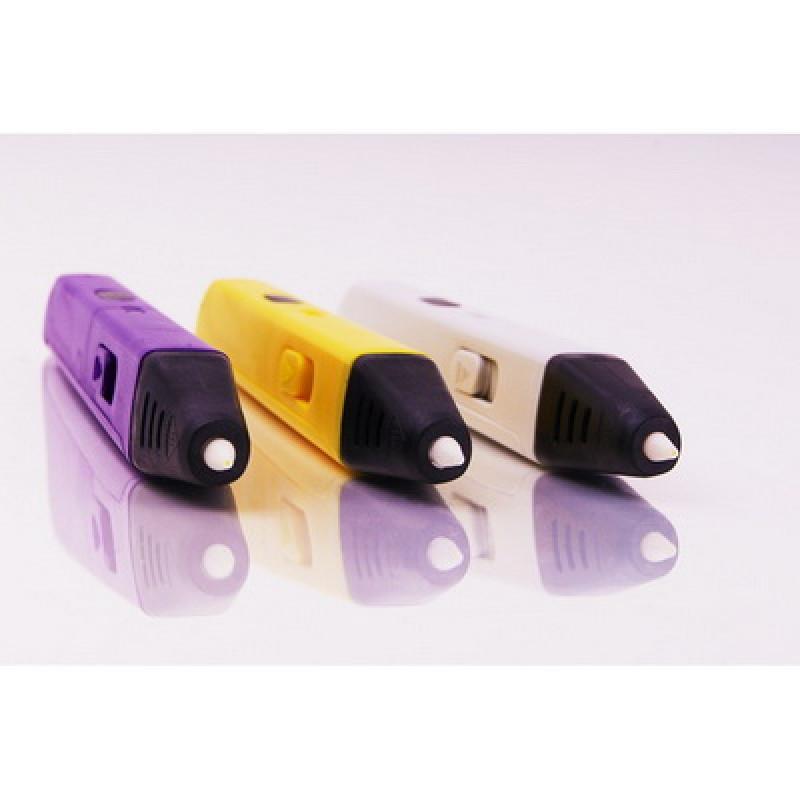 3D ручка SPIDER PEN SLIM с OLED-Дисплеем, фиолетовая