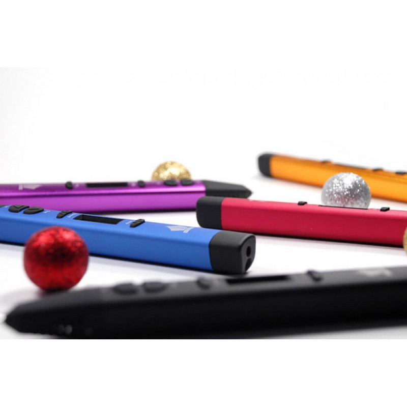 3D ручка SPIDER PEN PRO, сверкающая малина