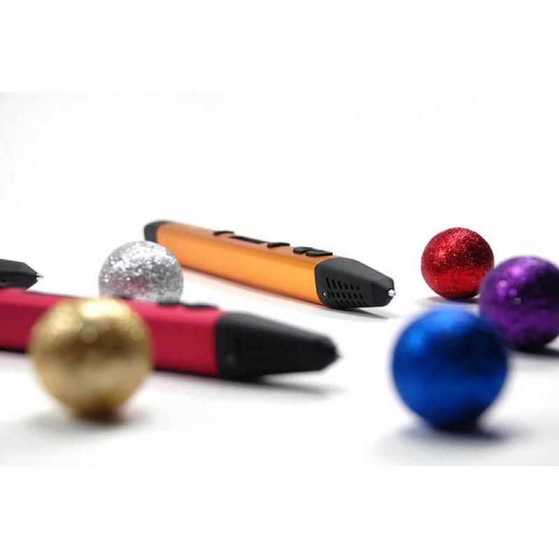 3D ручка SPIDER PEN PRO, белое золото