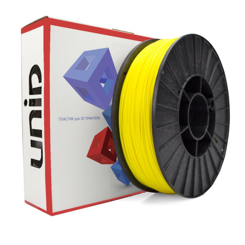 Катушка UNID ABS пластика 750гр. (желтый)