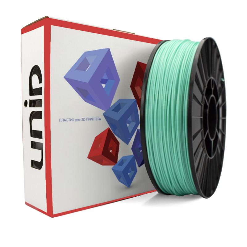 Катушка UNID PLA пластика 1000гр. (аквамарин)
