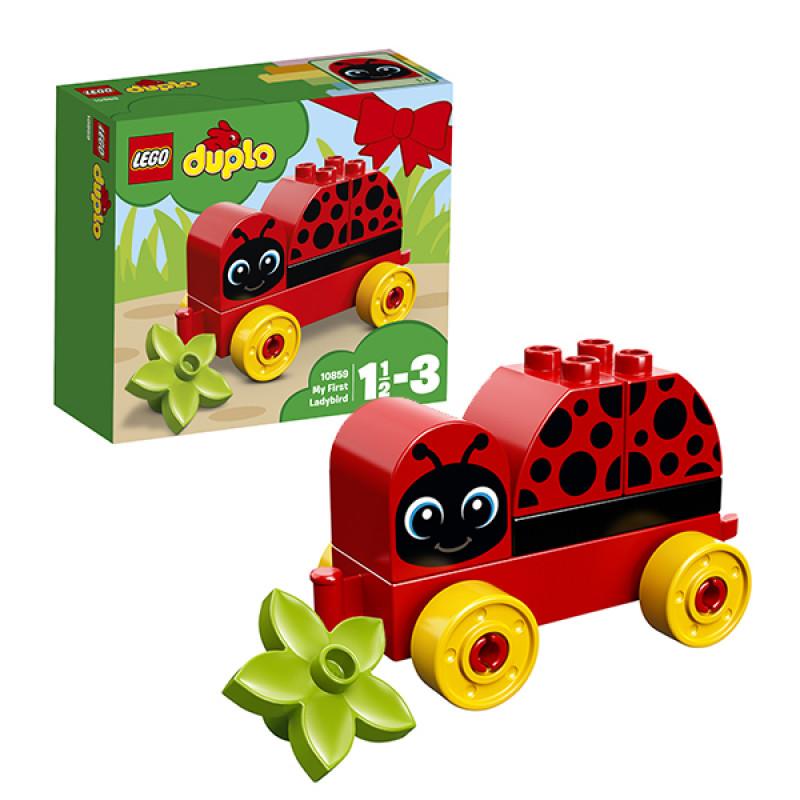 LEGO DUPLO 10859 Конструктор ЛЕГО ДУПЛО Моя первая божья коровка