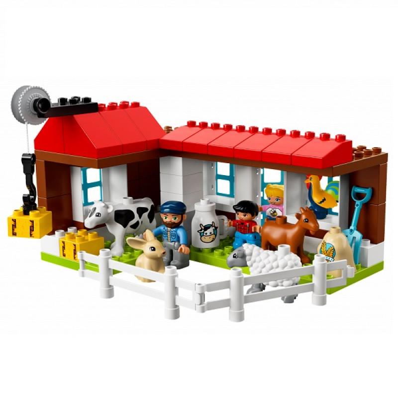 LEGO DUPLO 10869 Конструктор ЛЕГО ДУПЛО День на ферме
