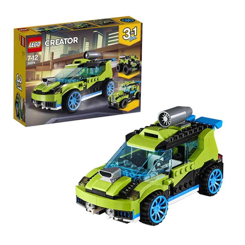 LEGO Creator 31074 Конструктор ЛЕГО Криэйтор Суперскоростной раллийный автомобиль