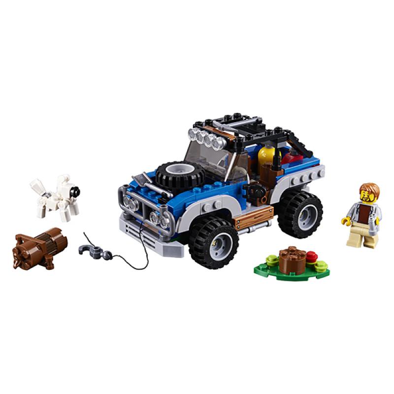 LEGO Creator 31075 Конструктор ЛЕГО Криэйтор Приключения в глуши