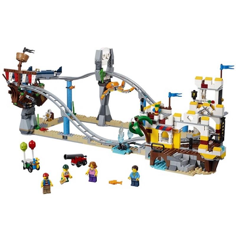 LEGO Creator 31084 Конструктор ЛЕГО Криэйтор Аттракцион Пиратские горки