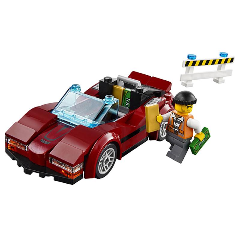 """Конструктор LEGO City """"Стремительная погоня"""""""