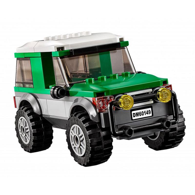 LEGO City 60149 Конструктор ЛЕГО Город Внедорожник с прицепом для катамарана