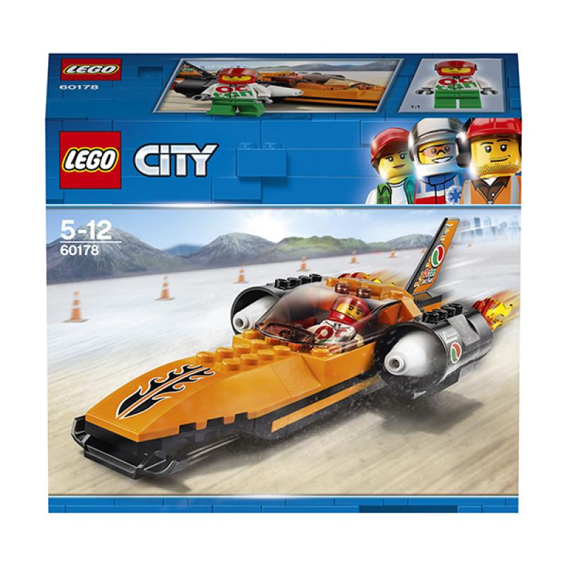 LEGO City 60178 Конструктор ЛЕГО Город Гоночный автомобиль
