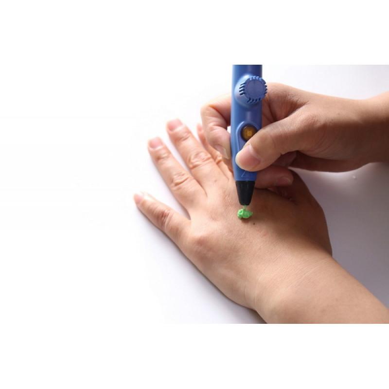 3D ручка Myriwell rp200a, Синяя (KID) Низкотемпературная.