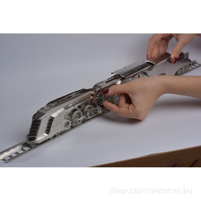 Конструктор коллекционная модель Time for Machine Ослепительный Стримлайнер 256 деталей (T4M38017)
