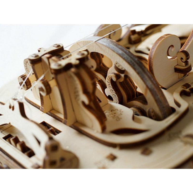 3D пазл UGEARS деревянный конструктор Харди-Гарди