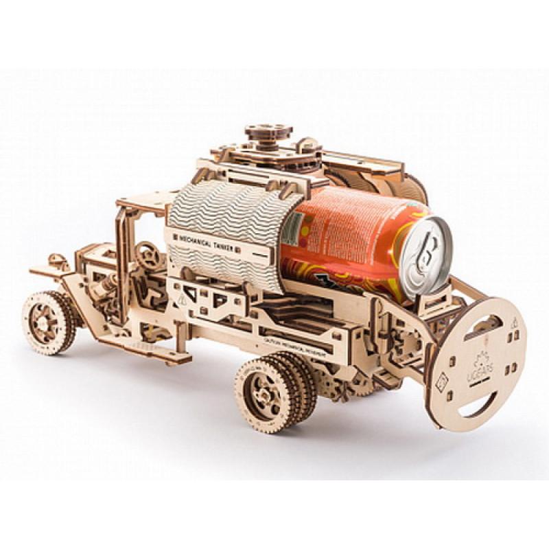"""3D пазл Ugears """"Доплнения к грузовику UGM-11"""""""