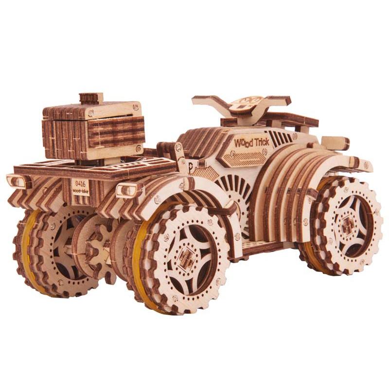 "Деревянный конструктор Wood Trick ""Квадроцикл"" Quad Bike"