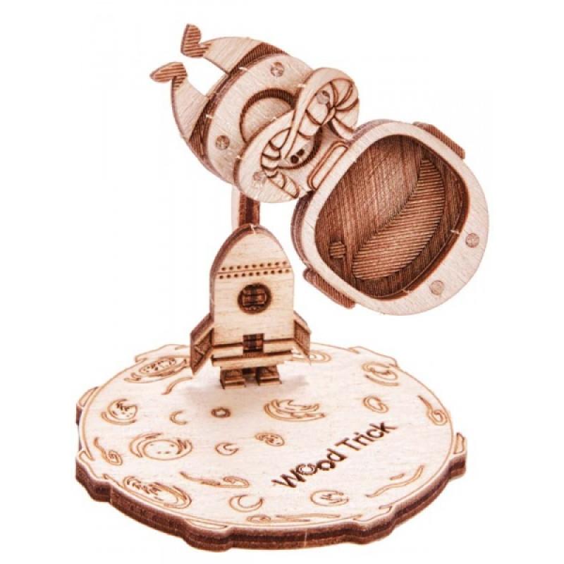 """Деревянный конструктор Wood Trick """"Вудик космонавт"""" Woodik Astronaut"""