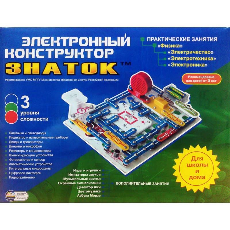 """Электронный конструктор Знаток """"999 схем+Школа"""""""