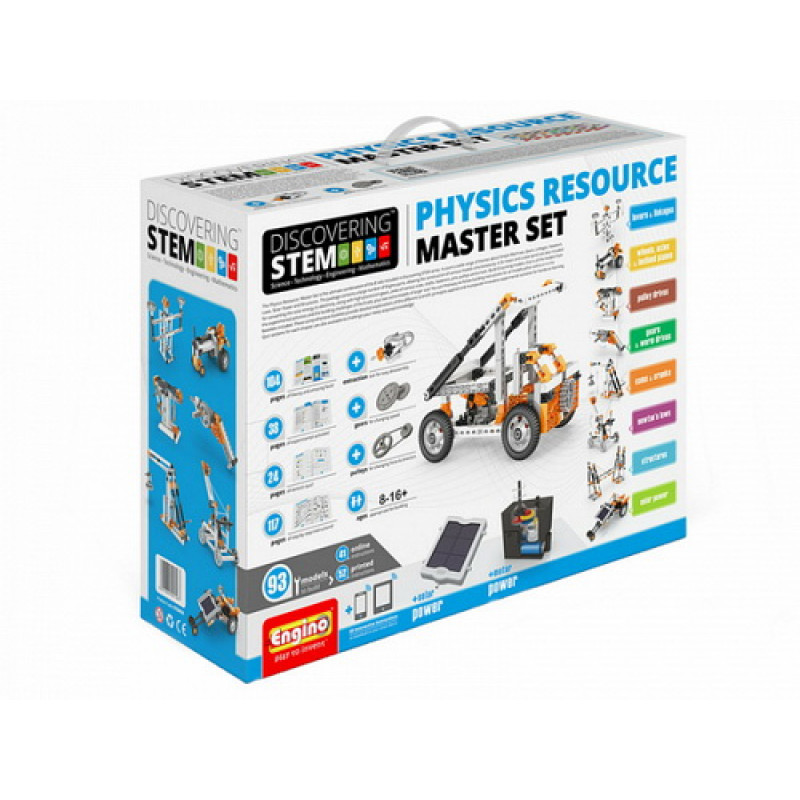"Конструктор ENGINO Discovering Stem ""PHYSICS RESOURCE MASTER SET"""