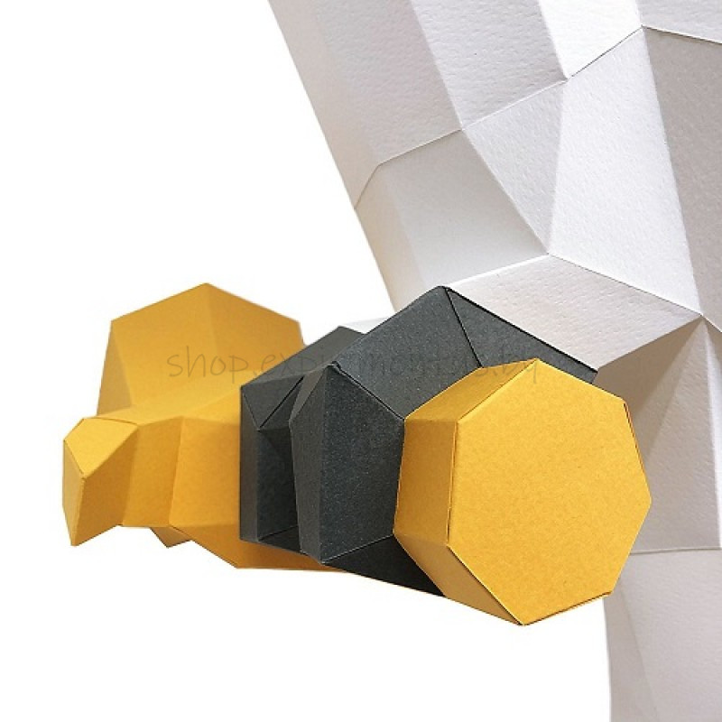"3D-конструктор из бумаги  ""КАКАДУ"" на стену PP-1KKD-2WK PAPERRAZ"
