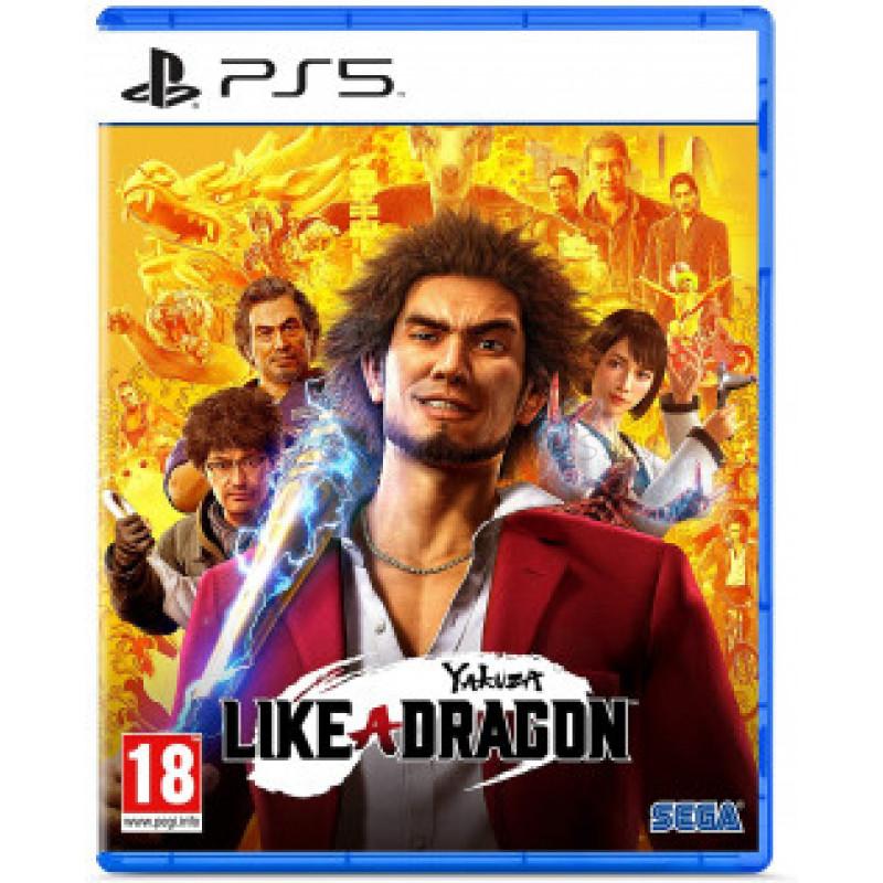 Игра для Play Station 5: Yakuza: Like a Dragon  1CSC20005020 SEGA