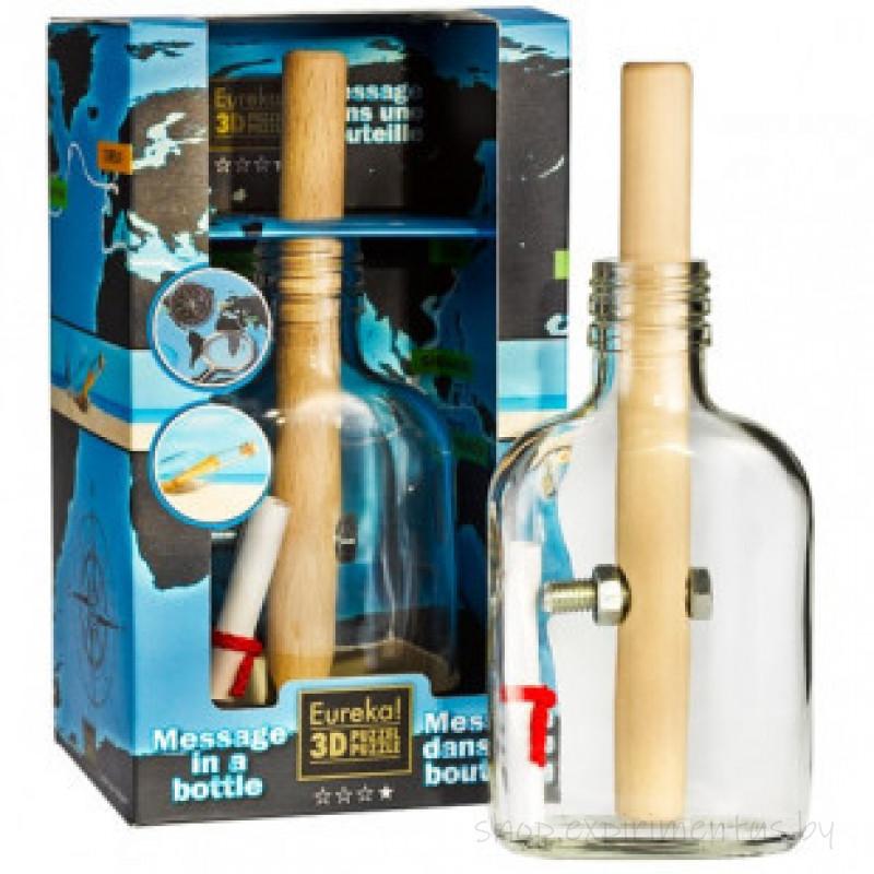 Eureka Message in a Bottle | Головоломка Письмо в Бутылке 473106