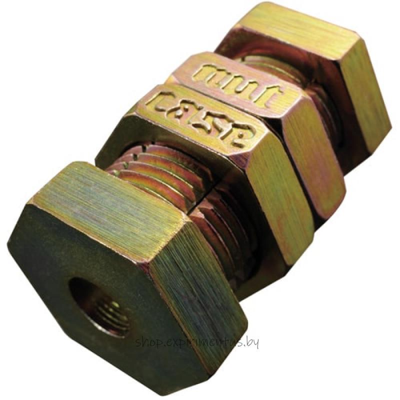 Японская металлическая головоломка Крепкий орешек (Huzzle Nutcase) 6*