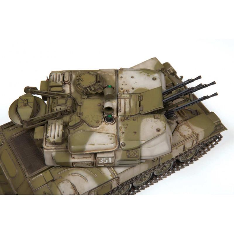 Сборная модель: Советская зенитная самоходная установка ЗСУ-23-4M «Шилка» 3635 ЗВЕЗДА