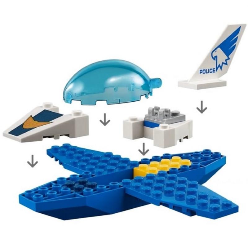 LEGO City 60206 Конструктор ЛЕГО Город Воздушная полиция: Патрульный самолёт