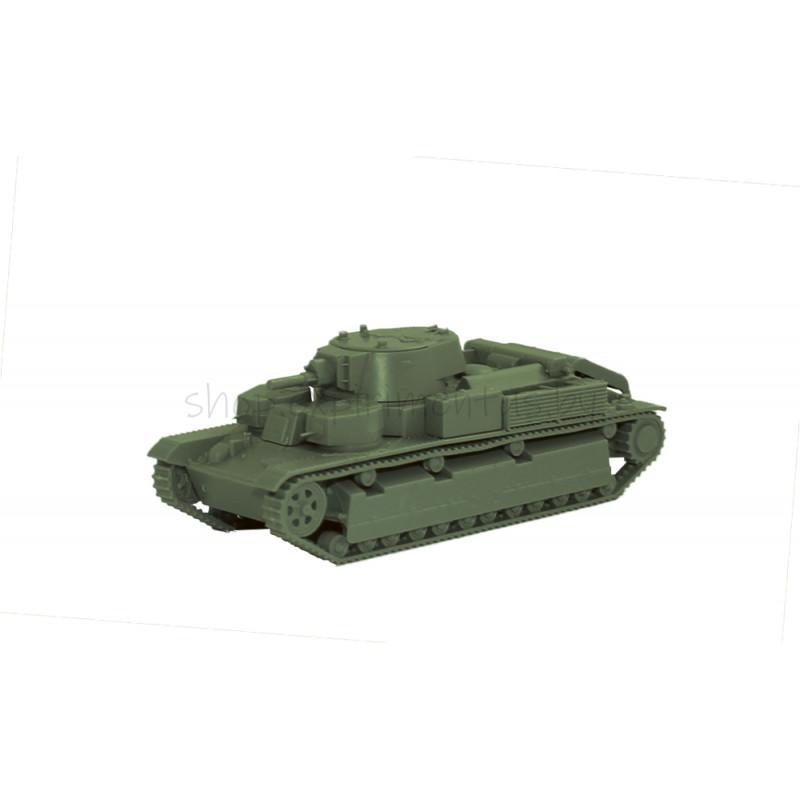 Советский средний танк Т-28 обр. 1936/обр. 1940 (1:100) 6247 ЗВЕЗДА