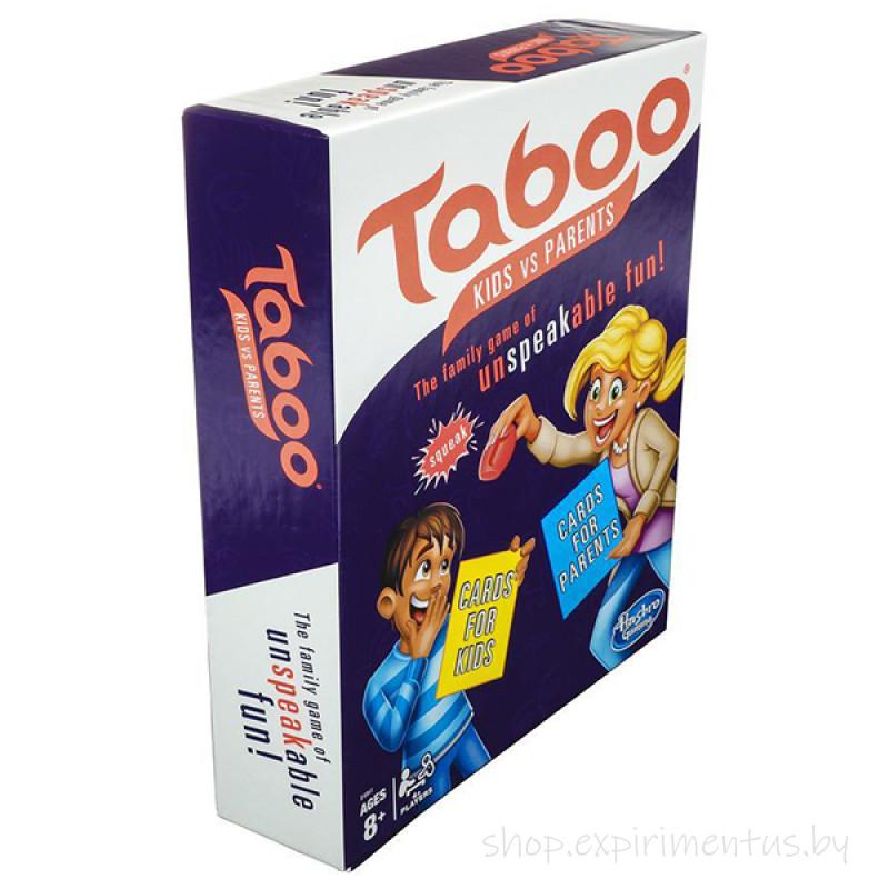 Hasbro Other Games E4941 Настольная игра ТАБУ Дети против родителей