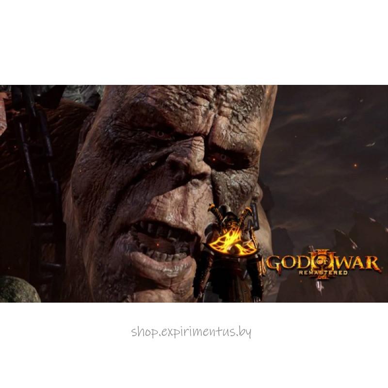 God of War III. Обновленная версия (Хиты PlayStation) [PS4]
