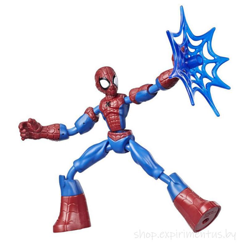 Hasbro Spider-Man E7686 Фигурка Бенди Человек-Паук 15 см