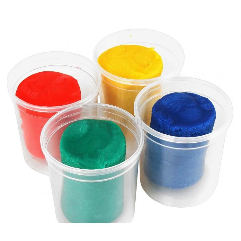 Тесто-пластилин 4 цвета
