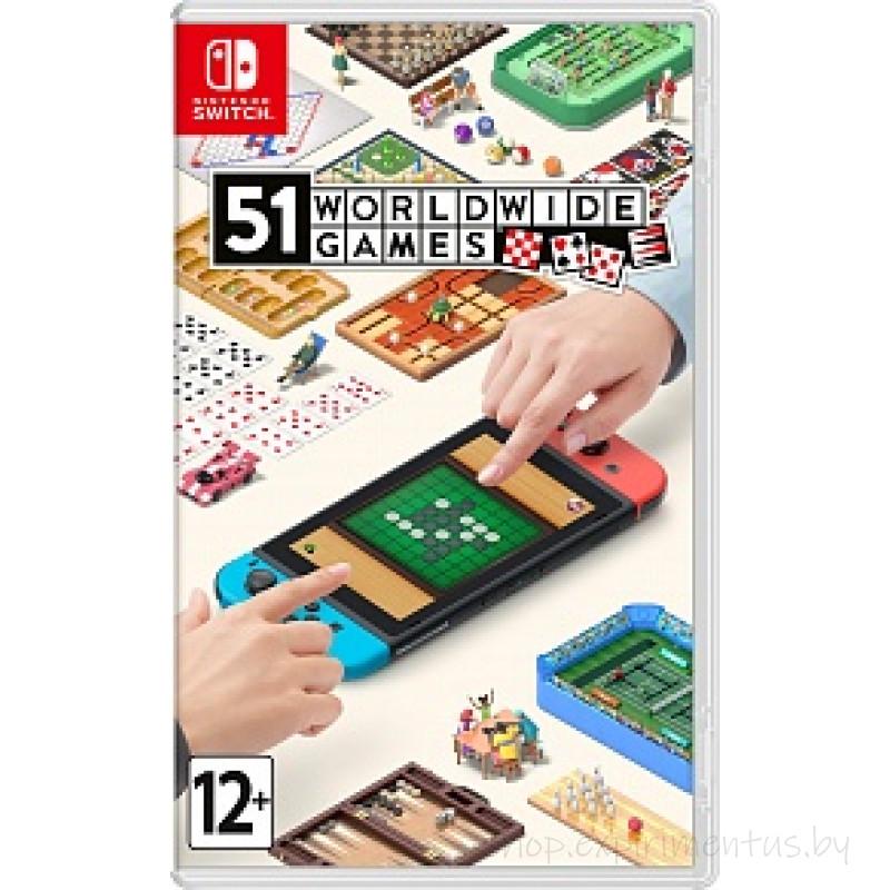 Игра для Nintendo Switch: 51 Worldwide Games (45496426293)