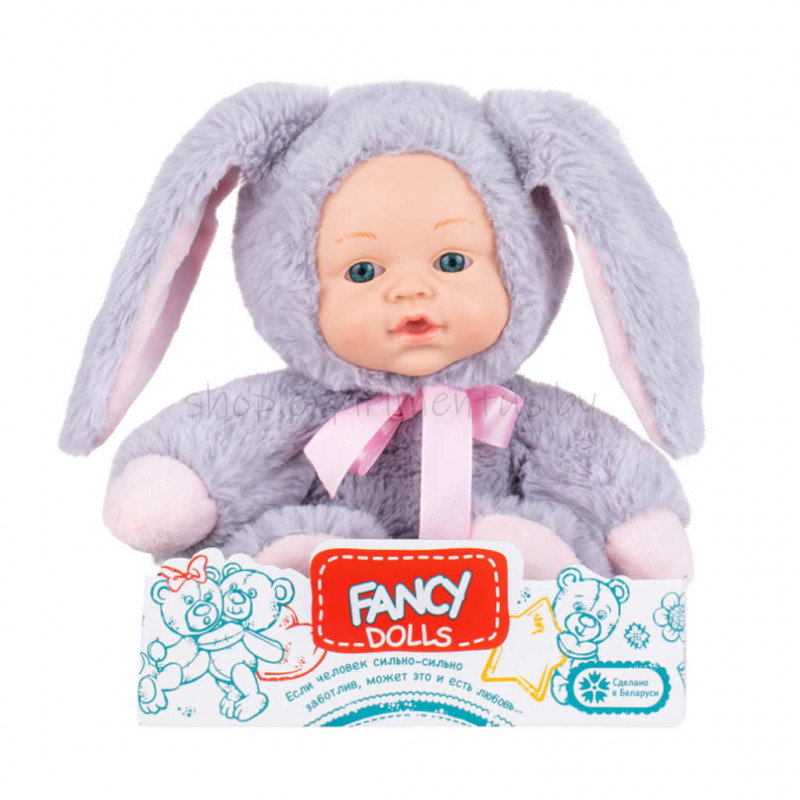 """Кукла мягконабивная Fancy Dolls """"Пушистик Зайка"""""""