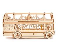 3D модель из дерева Лондонский автобус Wooden City