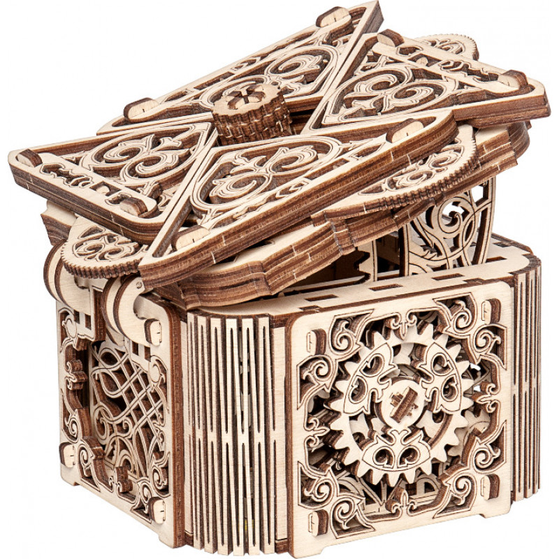 3D модель Wooden City Магическая шкатулка
