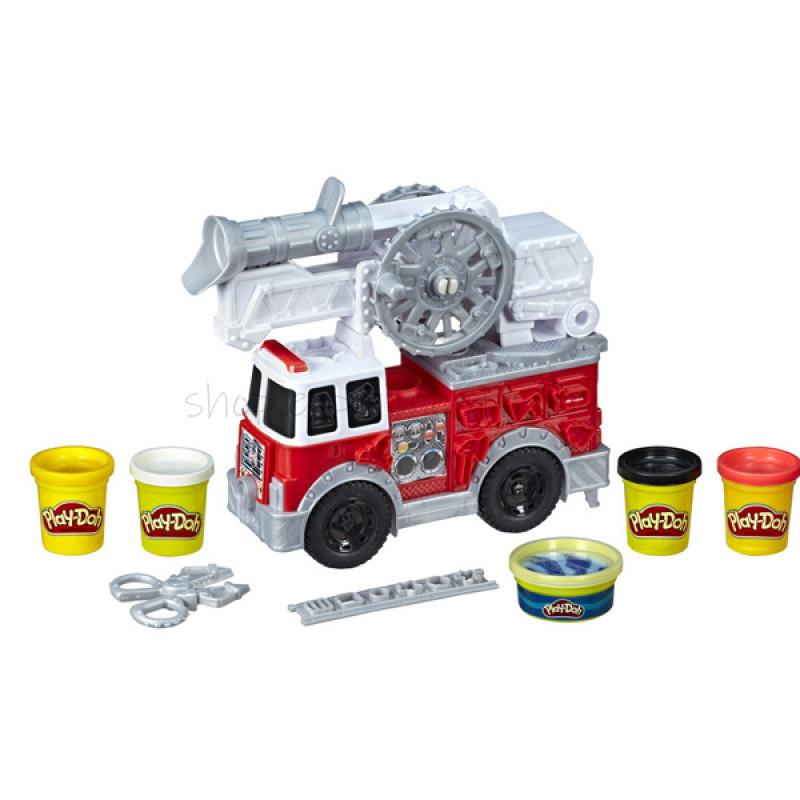 Hasbro Play-Doh E6103 Пожарная Машина