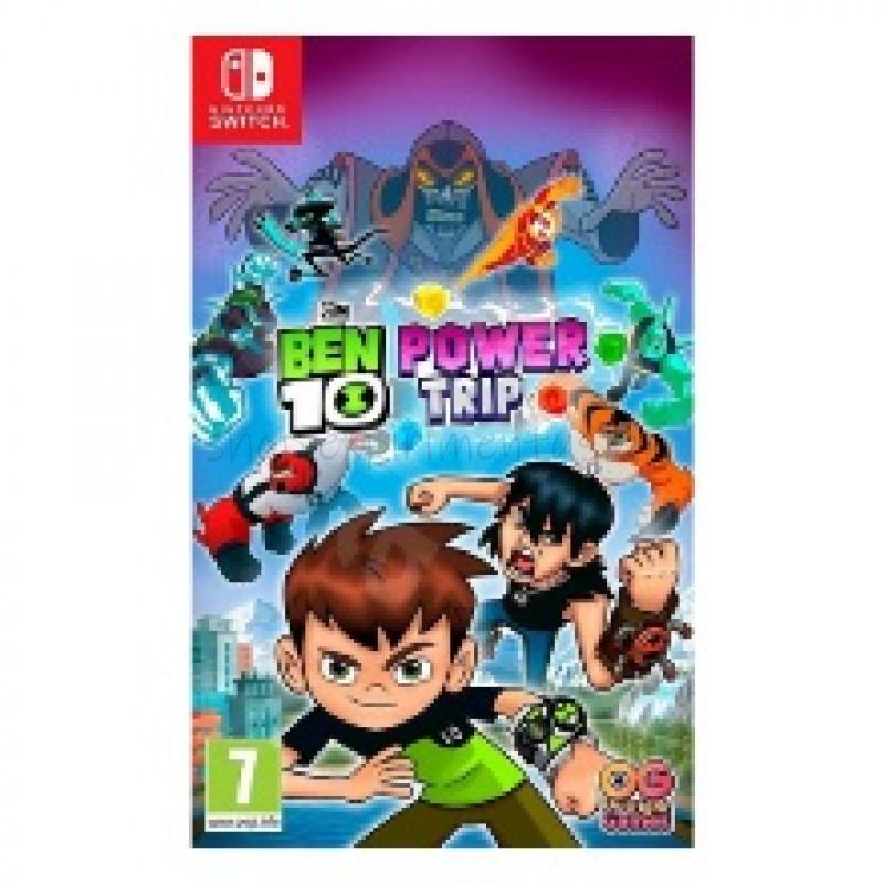 Игра для Nintendo Switch:  Ben 10: Мощное Приключение, русские субтитры