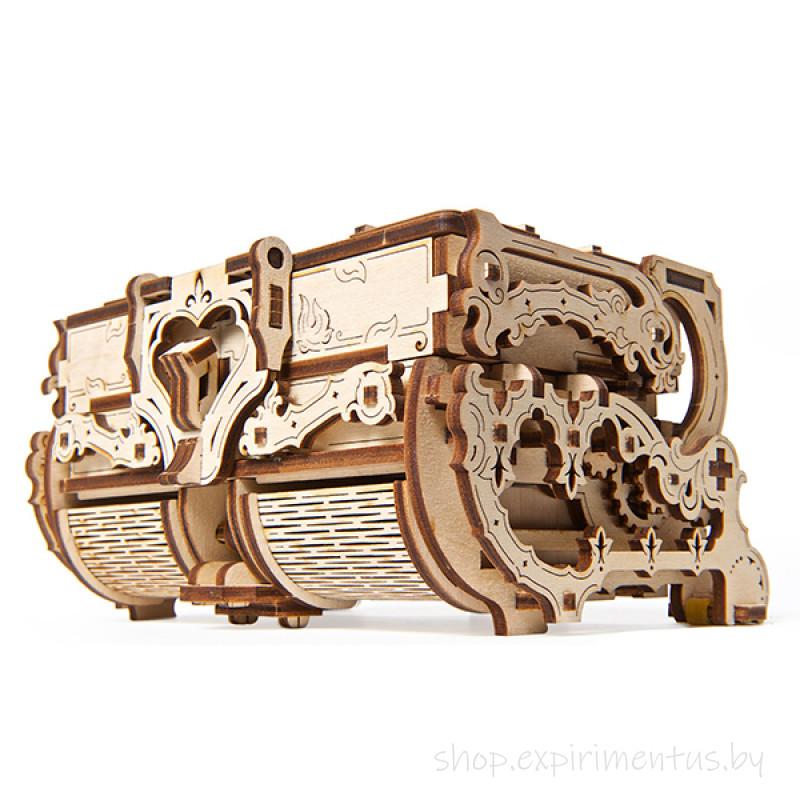 3D-конструктор Ugears Антикварная шкатулка
