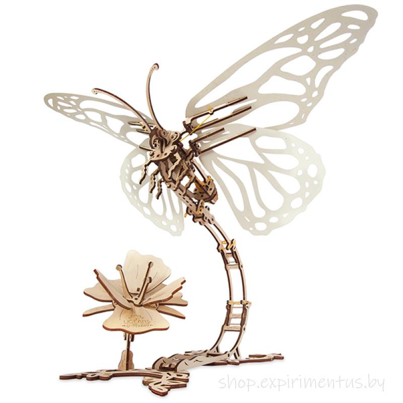 3D-конструктор Ugears Бабочка