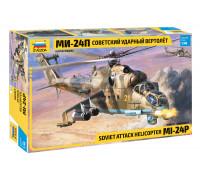 Сборная модель: Советский ударный вертолет Ми-24П 4812 ЗВЕЗДА (1:48)