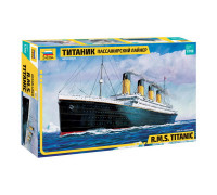 """Сборная модель Пассажирский лайнер """"Титаник"""" (1:700) 9059 ЗВЕЗДА"""